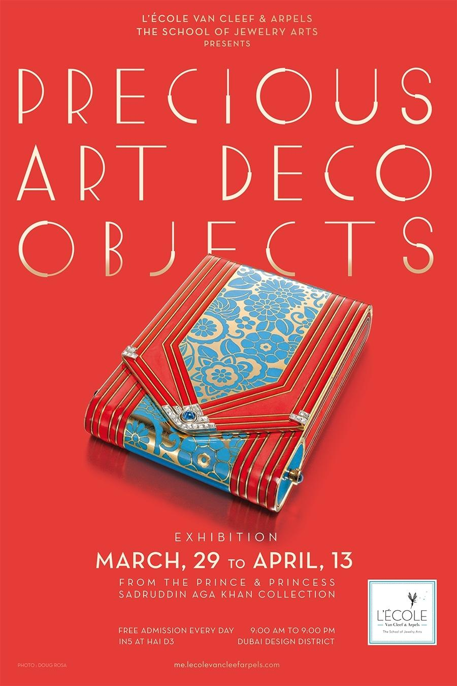Precious Art Deco Objects-Jewelry-Exhibition-Dubai